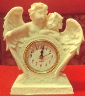 Cherub Angel Clock
